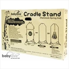 Babylove Cradle Stand with Accessories