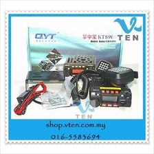 QYT KT- 8900 Dual Band Mobile Rig Mobile Radio Connect Cigar Lighte