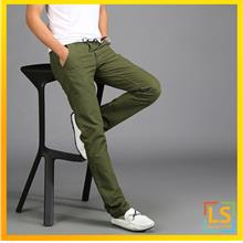 Korean Fashion Men Straight Cut Slim Fit Long Trouser Pants