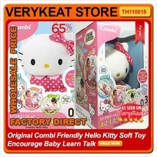 Original Combi Friendly Hello Kitty Soft Toy Encourage Baby Learn Talk