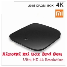 Xiaomi TV Mi Box Pro 3rd Generation 4K HD Android 1080p Miracast
