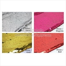 Sequins Backdrop (Event/Wedding/Party/Photobooth)
