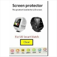 U8 3H Smart watch quality clear and Matt screen protector