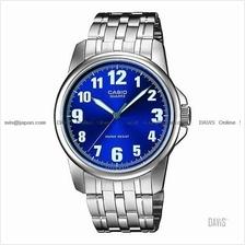 CASIO MTP-1216A-2B STANDARD Analog luminous SS bracelet blue