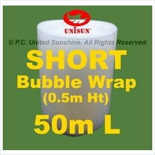 SHORT BUBBLE WRAP 50cm x 50m L GRADE A Plastic Packing ONLINE PROMO