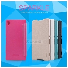 Sony Xperia E4G Nillkin SPARKLE Leather Flip Cover Case