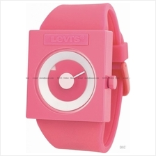LEVI'S TIME LTH0705 STANDARD disk dial silicone strap pink