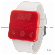LEVI'S TIME LTH0902 STANDARD touch screen silicone strap red white