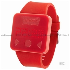 LEVI'S TIME LTH0903 STANDARD touch screen silicone strap red