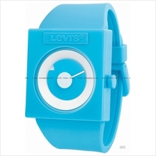 LEVI'S TIME LTH0703 STANDARD disk dial silicone strap blue