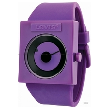 LEVI'S TIME LTH0704 STANDARD disk dial silicone strap purple