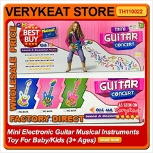 Mini Electronic Guitar Musical Instruments Toy For Baby/Kids (3+ Ages)