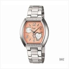 CASIO SHN-6009D-9A SHEEN Luxury Luxurious Hearts SS bracelet orange