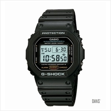 CASIO DW-5600E-1V G-SHOCK NASA flight qualified resin strap watch blac