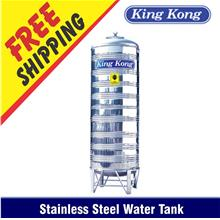 King Kong HHR Vertical Round Bottom With Stand S / Steel Water Tank