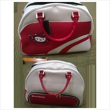 Hello Kitty Red Original Sports Bag + Shoe Compartment ( Fitness Gym