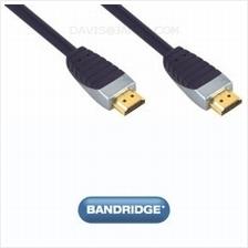 Bandridge Premium SVL1005 HDMI Male - HDMI Male 5.0m interconnect