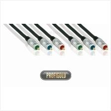 PROFIGOLD PRO PGV332 1.5m/4.9ft 3xRCA Male - 3xRCA Male interconnect