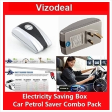 Combo Pack 25kw 30kw Electricity Saving Box and Car Fuel Petrol Saver