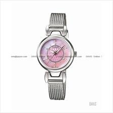 CASIO LTP-1338BD-4A STANDARD Analog studs slender bracelet pink pearl