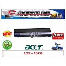 Acer Aspire One AO756 . 725 series laptop battery