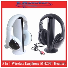 5 In 1 Wireless Earphone MH2001 Headset HiFi Headphone MP3 PC TV