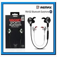 REMAX Unique Magnet Headset Wireless Sports Bluetooth 4.1 Earphone S2