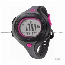 SOLEUS Running SR009-011 Chicked 30-lap interval timer PU gray pink
