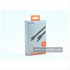Line YX-02S USB to Micro 5-pin Cable - 2 Meters