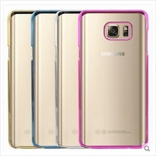 Samsung Galaxy Note 2 3 4 5 7 S6 S7 Edge J5 J7 Transparent NEON Case