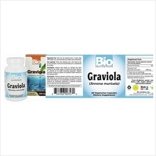 Graviola (anti oxidant, anti cancer , pain relieve, anti ulcer) 60 cap