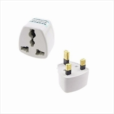 *Stock Clearance Universal UK 3 Pin Travel Plug Socket Adapter Adaptor