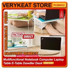 Multifunctional Notebook Computer Laptop Table E-Table Dawdler Desk