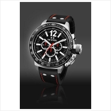 TW Steel CE1016 CEO Canteen 50mm Chrono Mineral 100M Leather Black