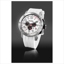 TW Steel TW123 Grandeur Tech 48mm Chrono Mineral 100M Resin White