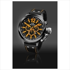 TW Steel CE1030 CEO Canteen 50mm Chrono Mineral 100M Leather Black