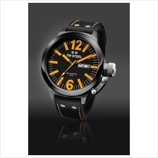TW Steel CE1028 CEO Canteen 50mm Day-Date Mineral 100M Leather Black