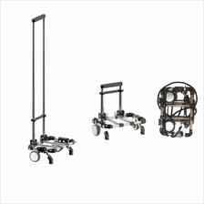 Mini Foldable Hand Cart Trolley N-001 30kg (Black)