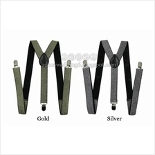 Suspenders: Gold & Silver (Wedding/Event)