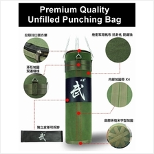 Premium Kick Boxing Unfilled Canvas Punching Bag Fitness Gym Muay Thai