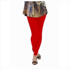 Fashion Quality Leggings Sheer Red