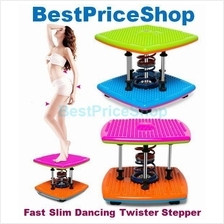 Fast Slim Double Springs Korean Dancing Twister Stepper Weight Lost
