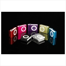 clip mp3 music player with card slot mini mp3 player 8 colors + 4 gift