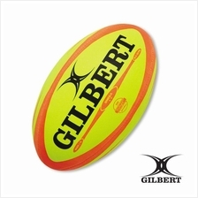 Gilbert Omega Fluoro Rugby Ball (RUB 009)