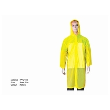 Good Quality PVC Rain Coat )
