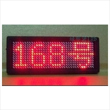 LED badge sign Scrolling advertising/business card show display
