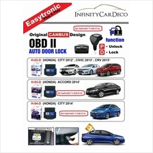OBD II Auto Door D Lock (Honda Jazz 08-13, City 12, Civic 13, CRV 13)