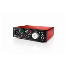 FOCUSRITE Scarlett Solo (2nd Gen) - Compact USB Audio Interface