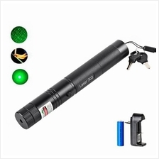 Powerful Professional Military Green Laser Pointer Pen 303 532nm 200mW