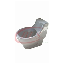 PORCLAIN WHITE TOILET SEAT FLOWER POT